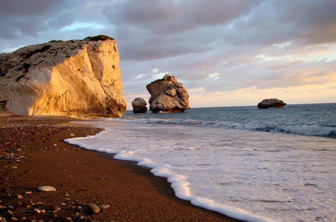 Strand Willkommen