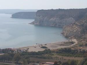 Koùrion, Blick zum Strand (640x480)