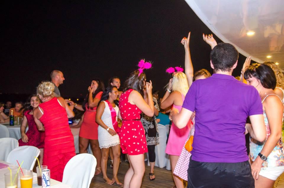 Party-Stimmung Ocean Flyer5